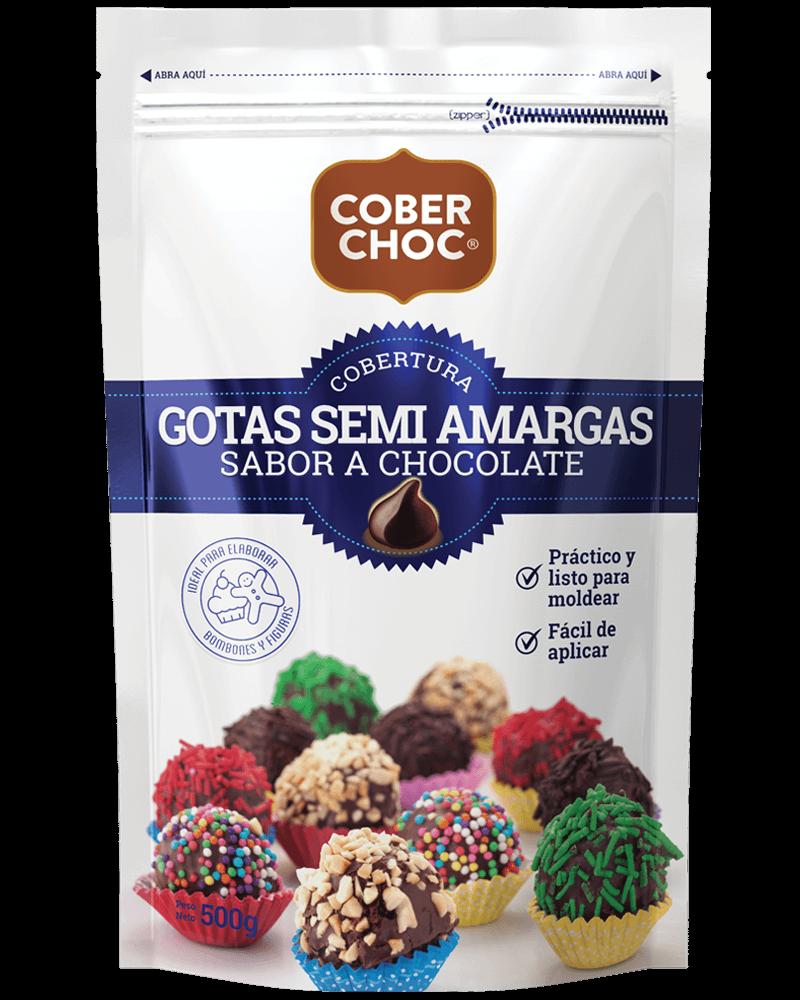 Chocolate Coberchoc Gotas Semi Amargas | La Fabril