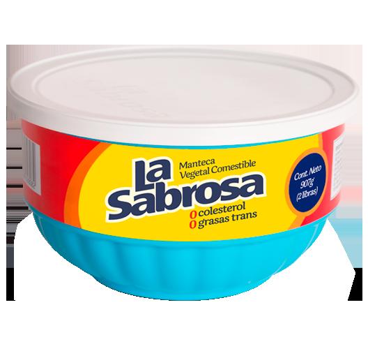 Manteca Vegetal La Sabrosa | La Fabril
