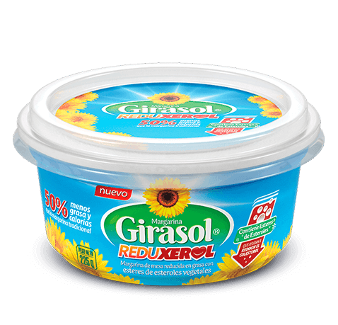 Margarina Girasol Reduxerol | La Fabril