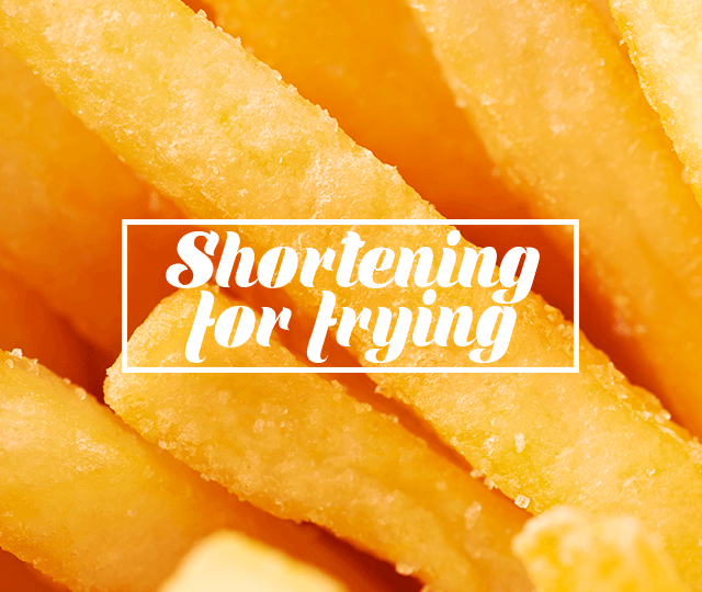 Shortening for frying